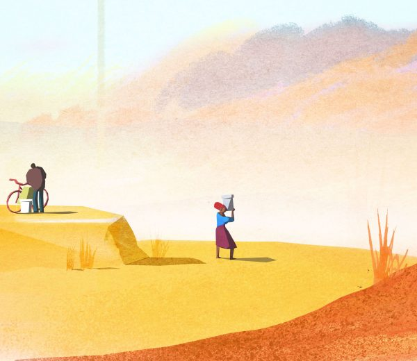 Waterscope – prep illustrations